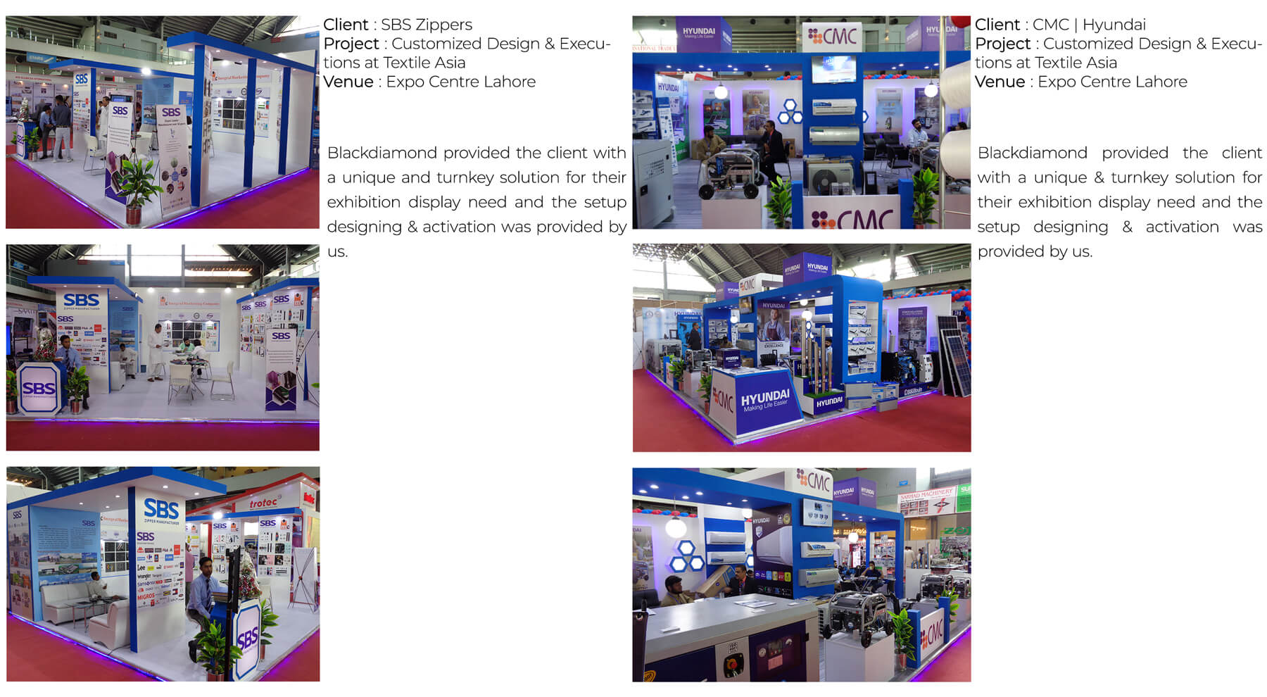 Lahore Exhibitions Stall