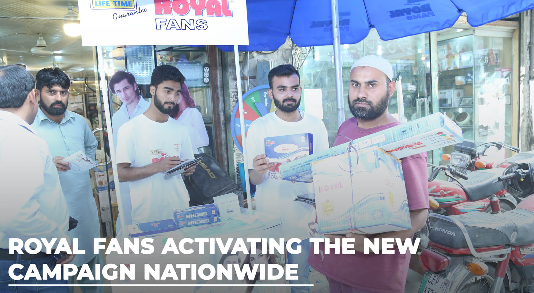 Nationwide Brand Activation
