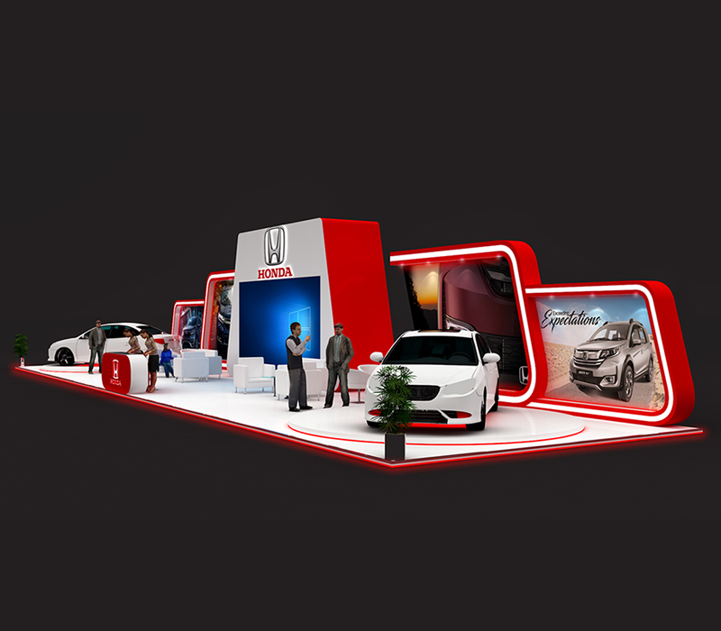Exhibition Stall Design Lahore